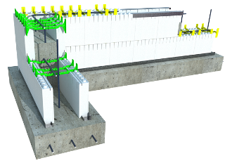Quad Lock Insulating Concrete Forms Icf Construction System