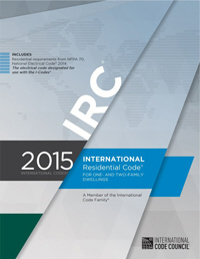 The International Residential Code IRC for One and Two Family Dwellings