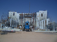 Quad-Lock ICF Commercial Project Concrete Construction Tall Walls, Cost-Saving, Energy Efficient Church exterior walls in Bullhead City, AZ - ICF & More, OKC