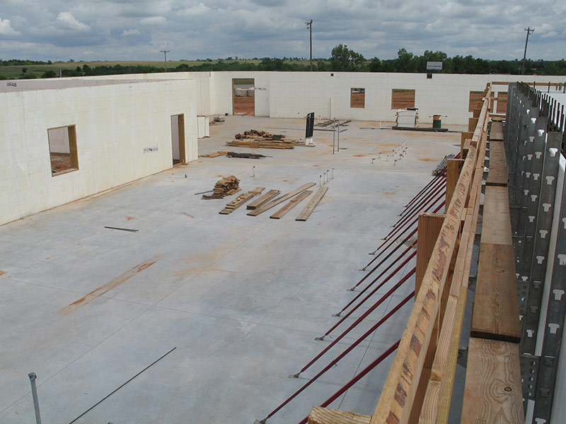 Quad-Lock 15,000sqft Commercial Project - Electrical Cooperative in Lindsay, OK - interior shot