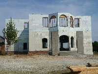 Quad-Lock 3 Storey ICF home in Seminole OK from Insulated Concrete Forms and More OKC