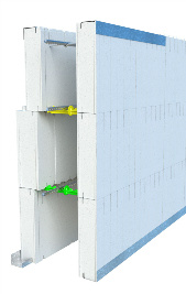 Quad-Lock Insulating Concrete Forms ICF Wall Transitions Graphic