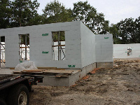 Quad-Lock Insulated Concrete Forms IBHS Fortified for Safer Living Hurricane Rated Home, exterior walls image, in Fairhope, AL - ICF & More, OKC