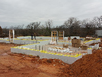 Quad-Lock ICF Durable & Sustainable 2400sqft Home in OKC First Course set