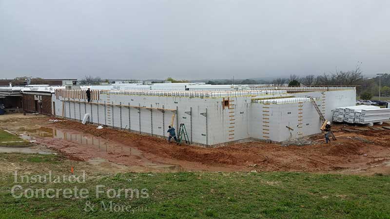Photos of Commercial Fire Resistant, safe & durable ICF