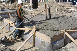Fab-Form Fastfoot Forms Deep Footings, Fabric Formwork for concrete footings and pad edging in OKC