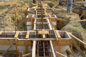 Fab-Form Fastfoot Enhances Concrete Strength, Fabric Formwork for concrete footings and pad edging in OKC