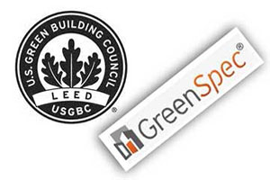 Fastfoot concrete forming products are GreenSpec Listed and contribute to USGBC LEED categories for Oklahoma