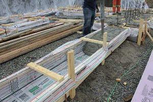 Fastfoot Fabric Formwork for Concrete Footings & Pad Edging in OK